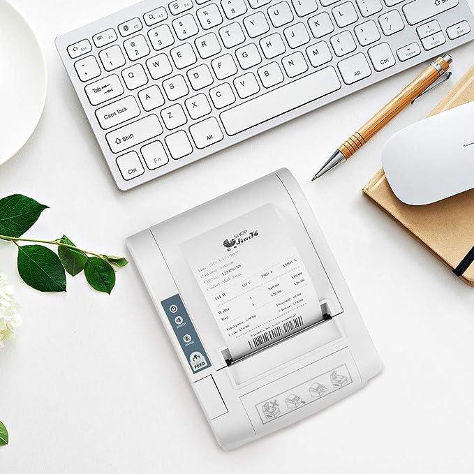 Amazon.com: LOSRECAL Thermal Receipt Printer of 300mm/s High ...
