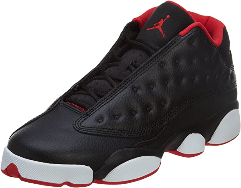 pretty nice 31d70 73646 AIR Jordan 13 Retro Low BG (GS)  BRED  - 310811-027. Back. Double-tap to  zoom
