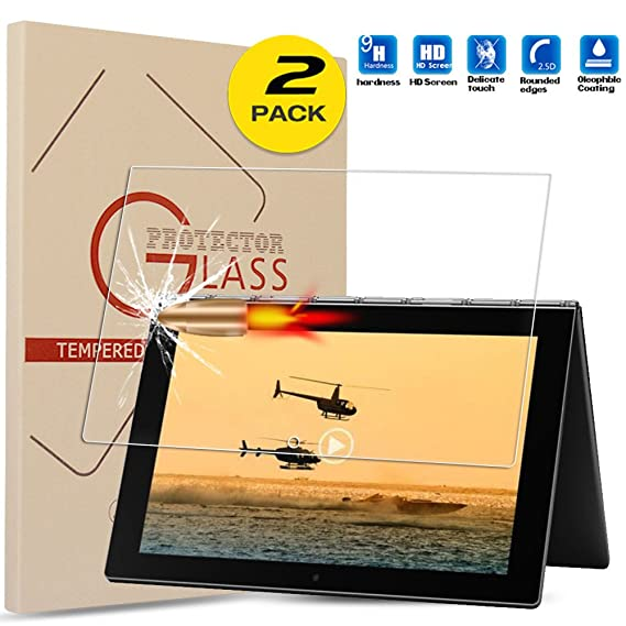 Amazon.com: For Lenovo YOGA Book Tempered Glass Screen ...