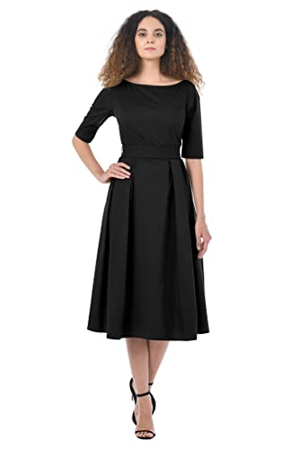 Rockabilly Dresses | Rockabilly Clothing | Viva Las Vegas eShakti Womens Quincy Dress $49.95 AT vintagedancer.com