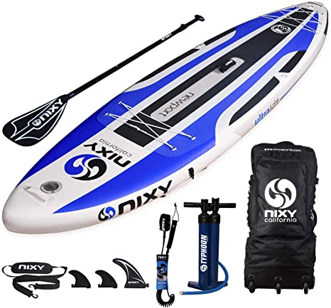 NIXY Newport Paddle Board All Around Inflatable SUP 106