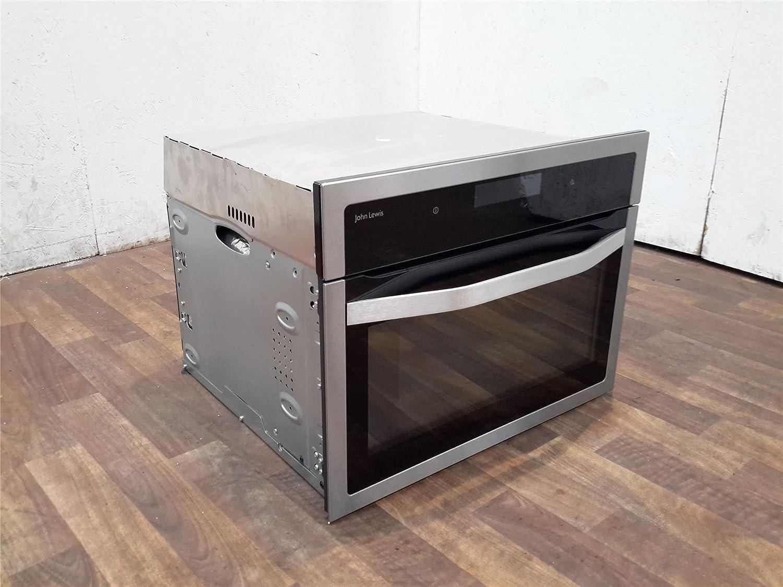 John Lewis Kitchen Appliances John Lewis Jlbic04 Built In Combination Microwave Black Stainless