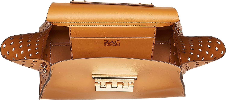 ZAC Zac Posen Eartha Top Handle-Hex Floral Perforation