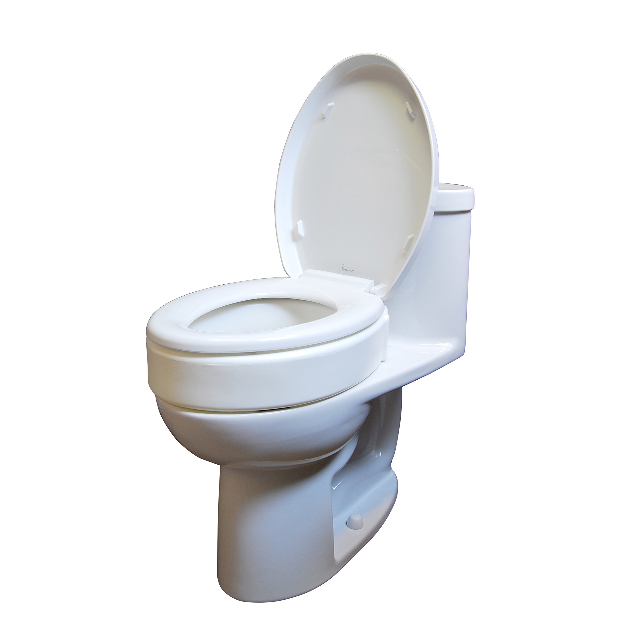 Drive Medical Toilet Seat Riser, Elongated by Drive Medical (Image #2)