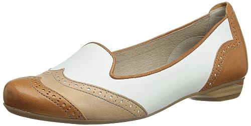 Softwood Linda Slip On, Mocasines para Mujer, Texas White/HAV/Nude, 7 UK: Amazon.es: Zapatos y complementos