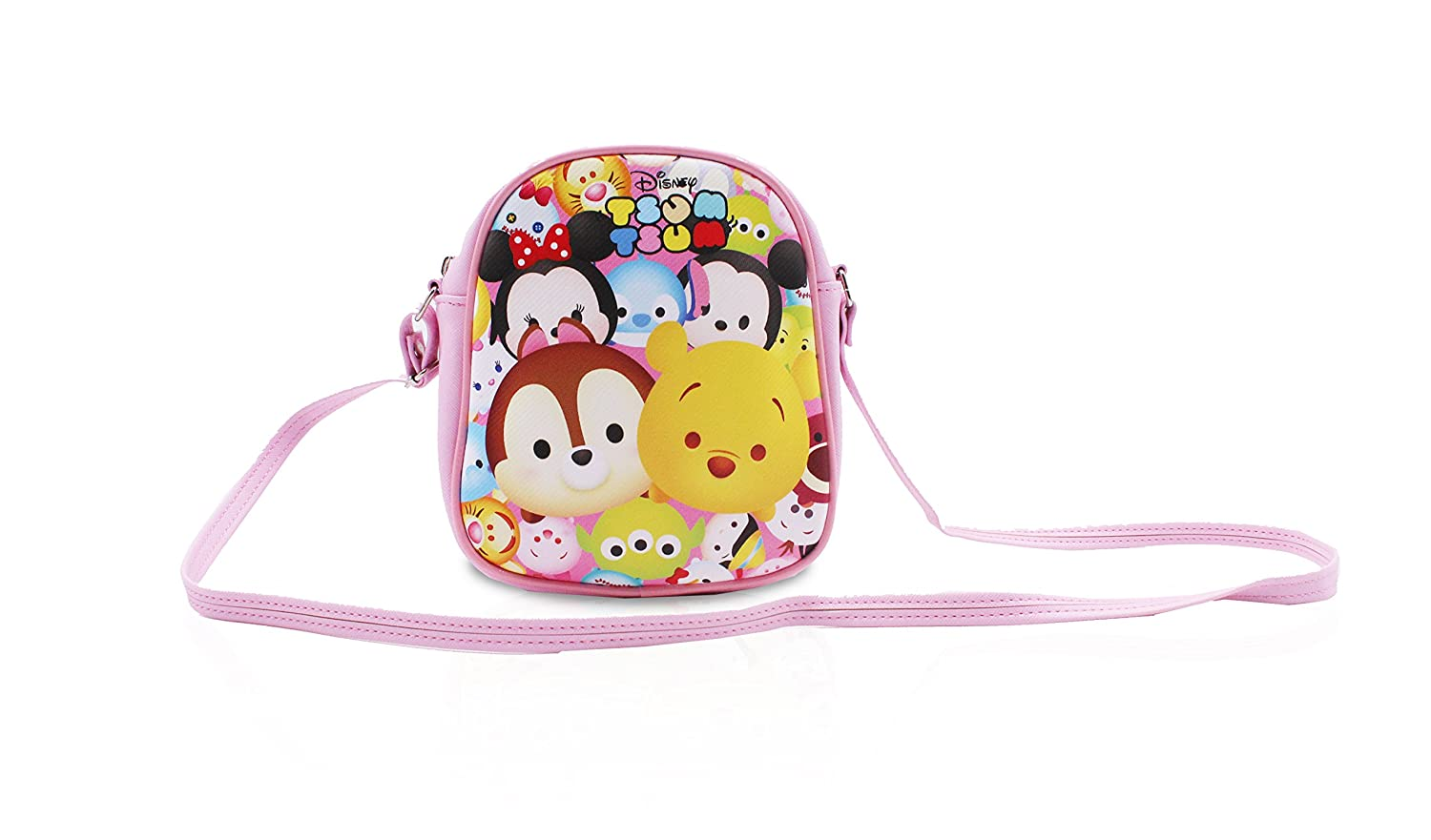 Finex Pink Peppa Pig Premium PU Leather Little Handbag Purse for kids toddlers preschoolers girls boys SF366A1