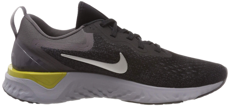 Nike Mens Odyssey React Running Shoes Black/Metallic/Grey/Atmos Grey 7 by Nike (Image #6)