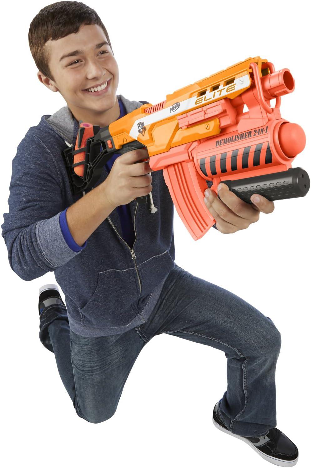 MISSILI morbido per pistola Nerf N Strike Launcher DEMOLISHER Blaster Bambini Giocattoli Regali