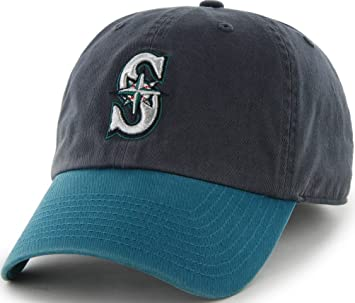 MLB Seattle Mariners  47 Brand Clean Up Home Style Adjustable Cap ... cc447eedb719
