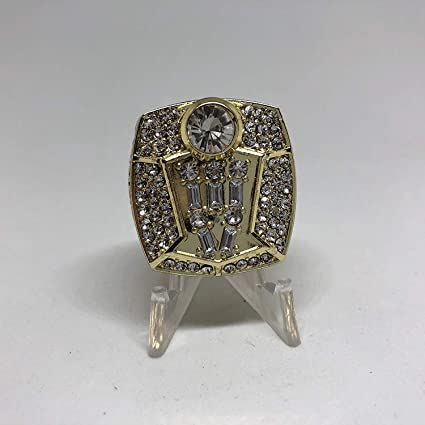 1c9d35f95f589c Image Unavailable. Image not available for. Color  1998 Michael Jordan  23 Chicago  Bulls High Quality Replica 1998 Championship Ring ...