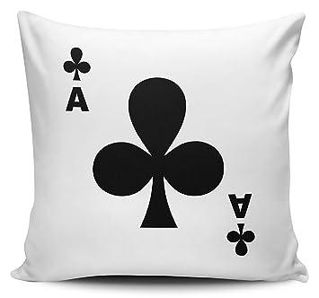 Pack de jugando a las cartas - As de Clubes - Funda para ...