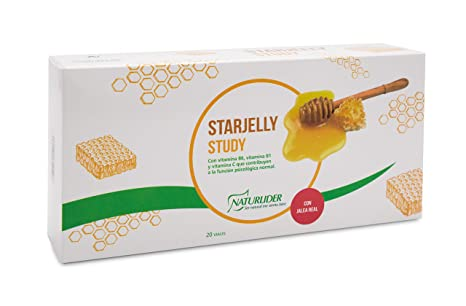 Star Nutri Starjelly Study Suplementos para Sistema Nervioso Central - 20 Unidades
