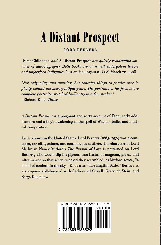 a distant prospect lord gerald hugh tyrwitt wilson berners 9781885983329 amazoncom books