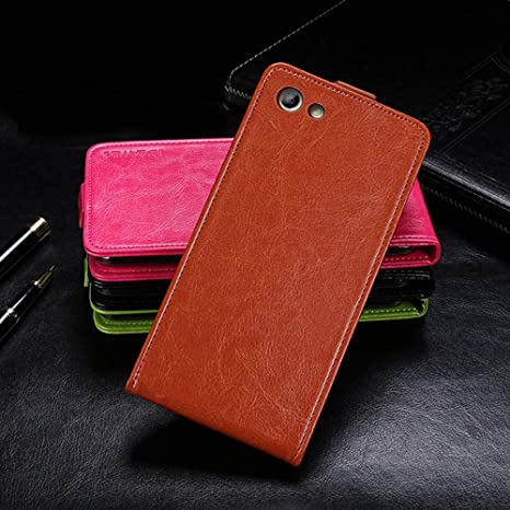 Amazon.com: Case for Elephone S7, PU Leather Stand Wallet ...