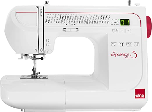 Elna Experience 540S - Máquina de coser: Amazon.es: Hogar