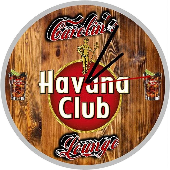 Havana Club - Reloj de pared: Amazon.es: Hogar