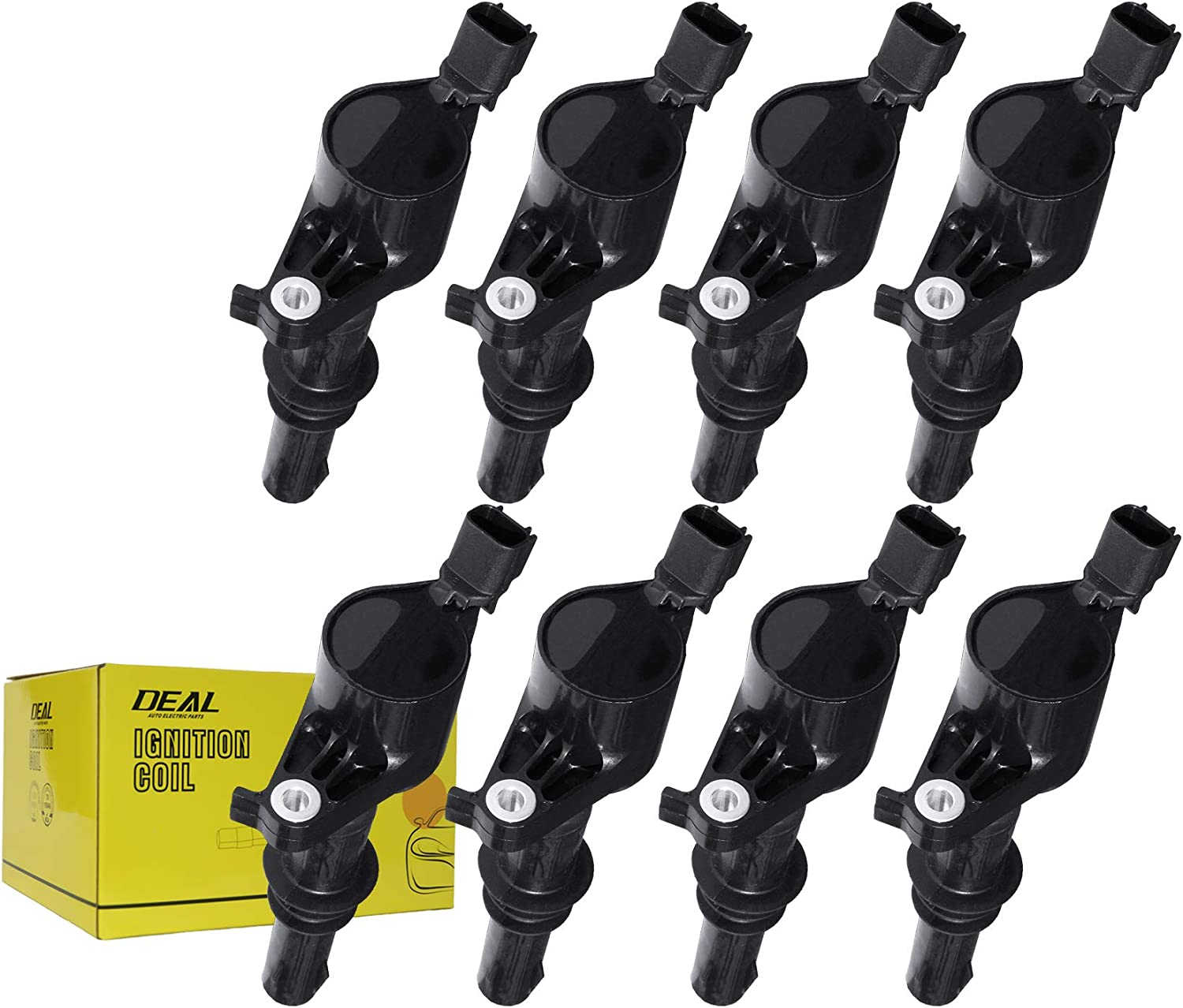 Lincoln Mark LT Navigator Mercury Mountaineer 4.6L 5.4L V8 Replacement# DG-511 FD508 C1659 C1541 DEAL Pack of 8 New Ignition Coils For Ford Mustang Explorer Sport Trac Expedition F-150 F-250 F-350