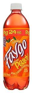 Faygo Peach Soda, 24 oz (24 Pack)