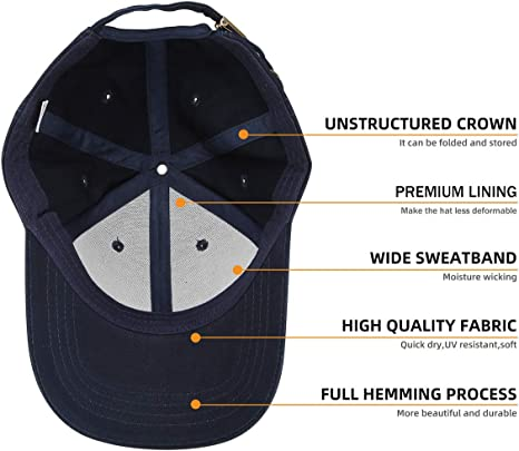 OverDose Damen Baumwolle Baseball Cap Reine Farbe Baseboard Baseballkappe Kappe Basecap Unisex Baseball Kappen Sport oder auf Reisen M/ütze Baseball M/ützen f/ür Draussen