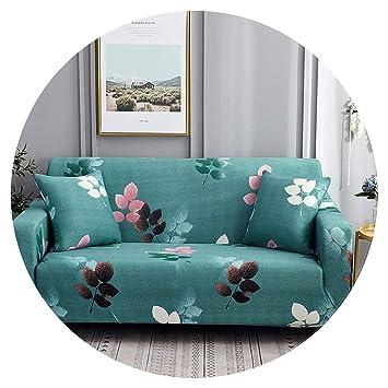 Amazing Amazon Com White Blue Plaid Colors Sofa Cover Elastic Theyellowbook Wood Chair Design Ideas Theyellowbookinfo