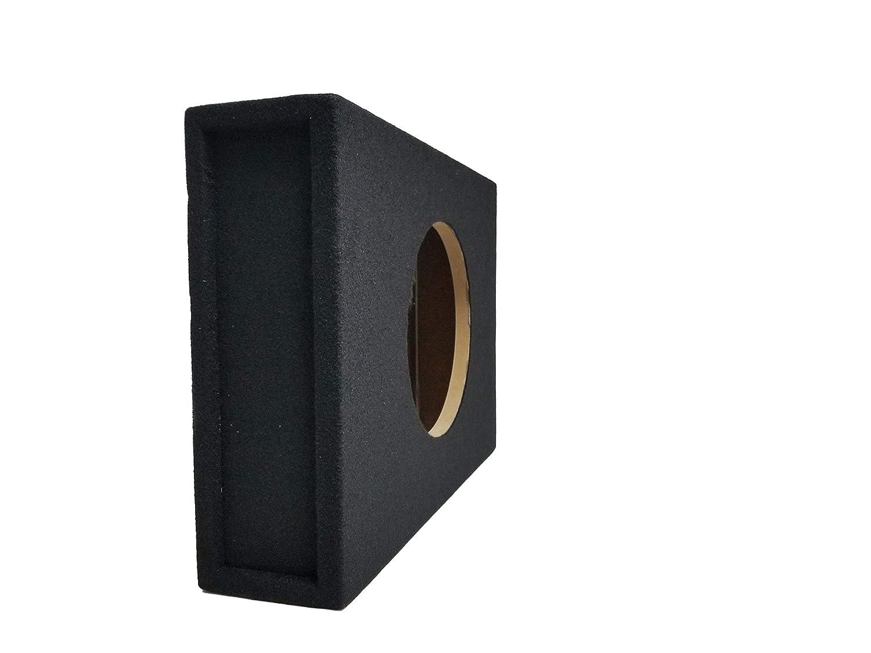 Bass Rockers Single 12 Shallow Subwoofer Box Low Sealed Slim Enclosure BR12SME