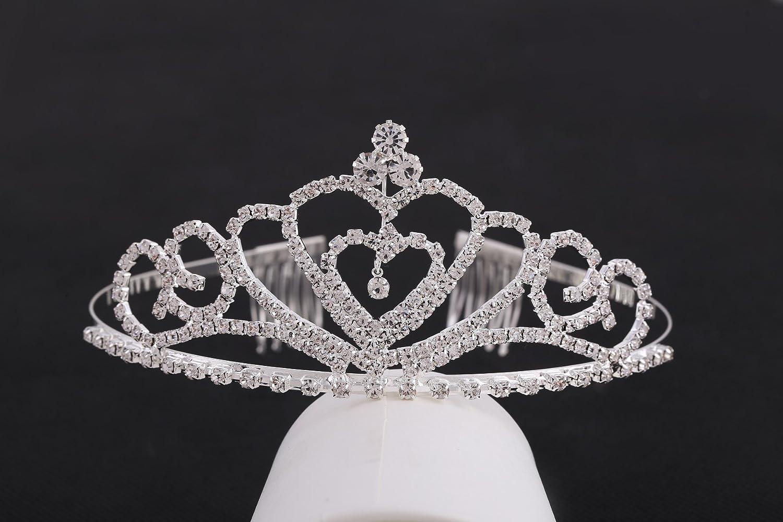 ELSA & ANNA® Mujer Niñas Chicas Reina Princesa Calidad Corona de ...
