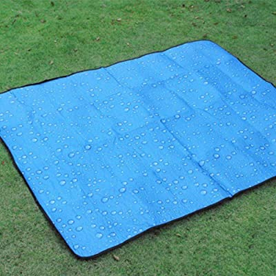 Daeou Taille: 150x180cm Couverture de pique-nique imperméable pique-nique en plein air mat plage pique-nique couverture pliante couverture de camping en plein air
