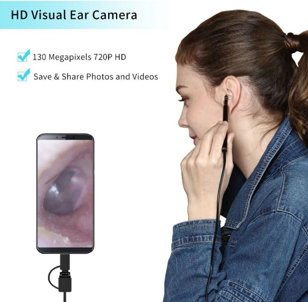 JIACUO USB HD Visuelle Ohrreinigung Endoskop Ohr L/öffel Earpick Kamera Health Care Tool