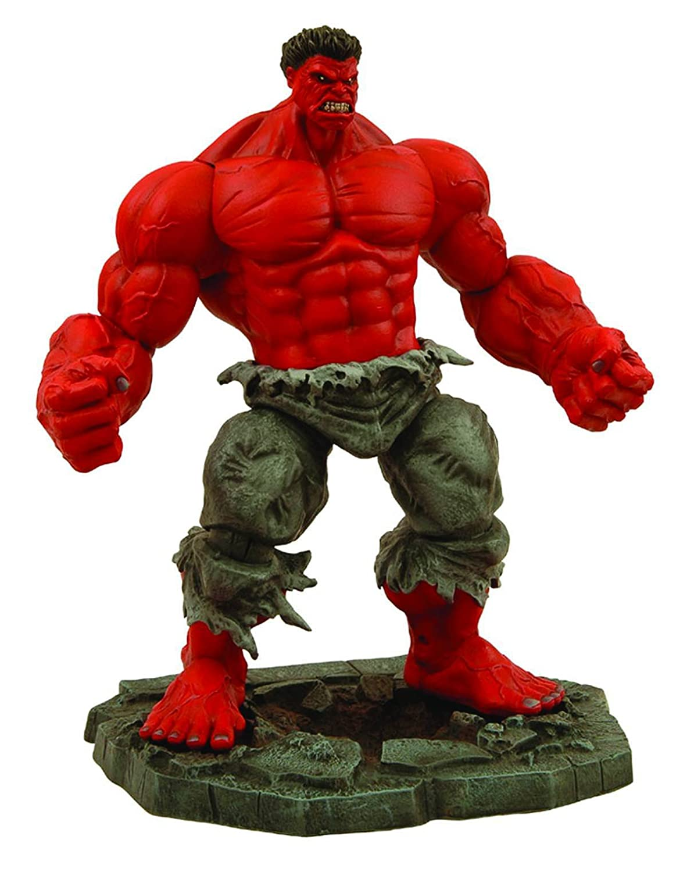 Marvel MAR088262 Select Red Hulk Action Figure