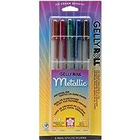 Sakura 37379 - Juego de bolígrafos de Tinta de Gel (5 Unidades, Punta Fina, Varios Colores)