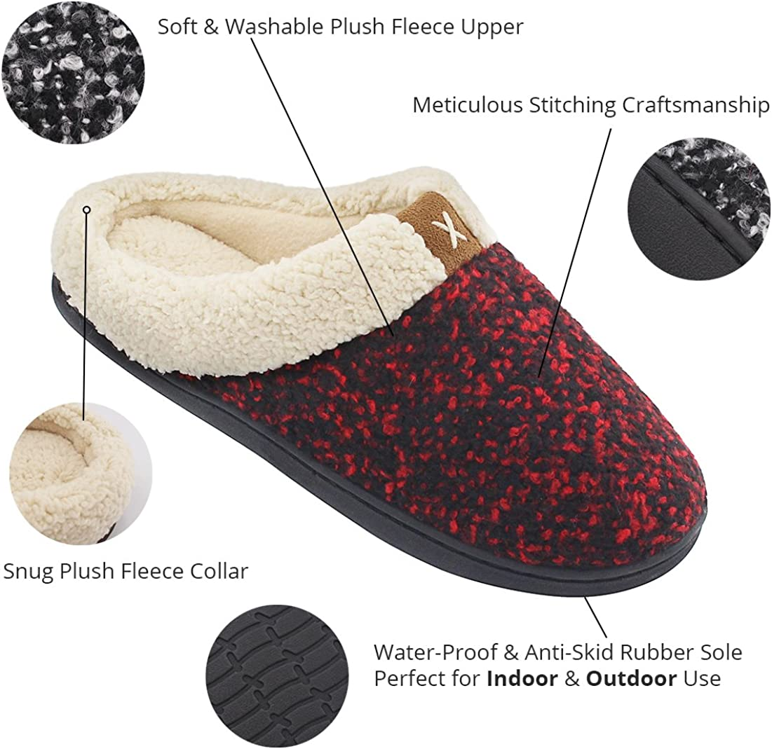 NEW LADIES WOMENS FLAT SOFT MULES WARM COMFORT COSY HOUSE SLIPPERS SHOES UK 3-8