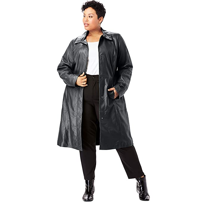 lower price with customers first 60% clearance Jessica London Women's Plus Size Trench Coat