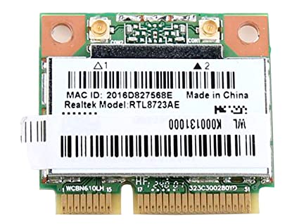 Realtek Rtl8723 Rtl8723ae Half Mini Pcie Bluetooth Wireless Wlan Wifi Card  802 11 BGN