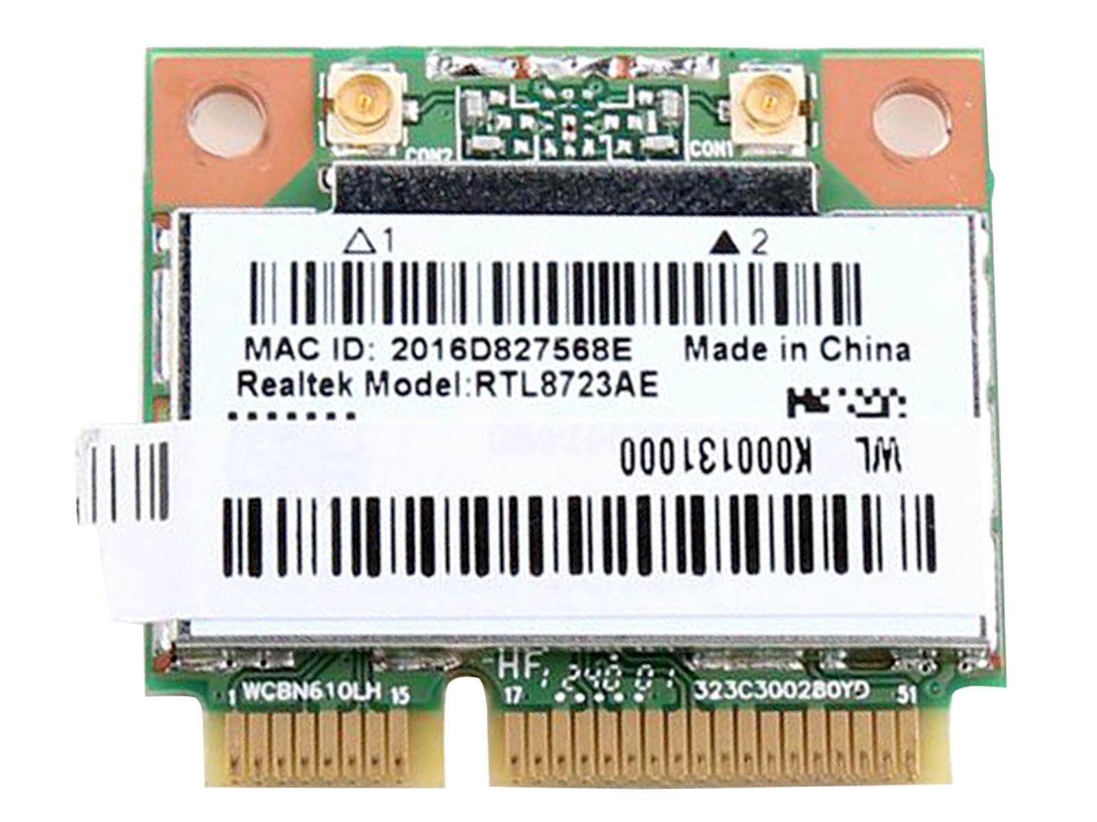 Realtek Rtl8723 Rtl8723ae Half Mini Pcie Bluetooth Wireless Wlan Wifi Card 802.11 B G N
