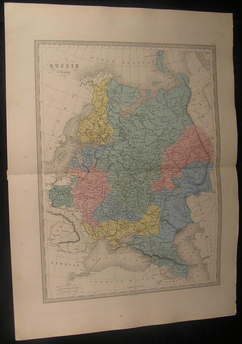 Russia in Europe Crimea Finland Ural Mountains c.1870 ...