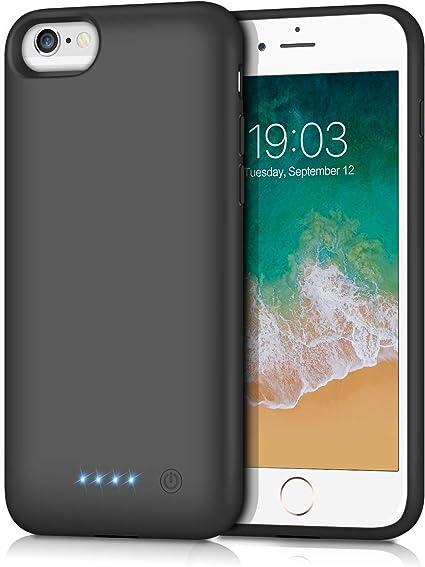Amazon.com: Swyop - Funda con batería para iPhone 6s, 6000 ...