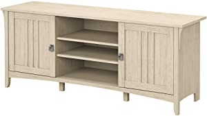 Bush Furniture Salinas Stand for 65 Inch TV, 60W, Antique White