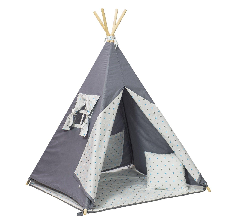 EnfantsCabaneEnsemble Tente Les De Pieces Tipi 4 La Pour Teepee NPwXn0O8k