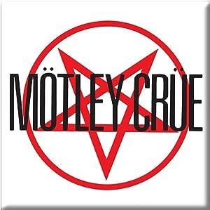 Motley Crue Fridge Magnet Band Logo Official 76Mm X 76Mm