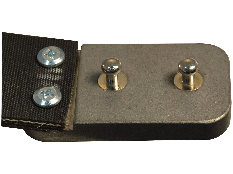 Lenwood Leather Blunt Force Trauma Conveyor Belt 1.5 Stainless Steel Buckle.