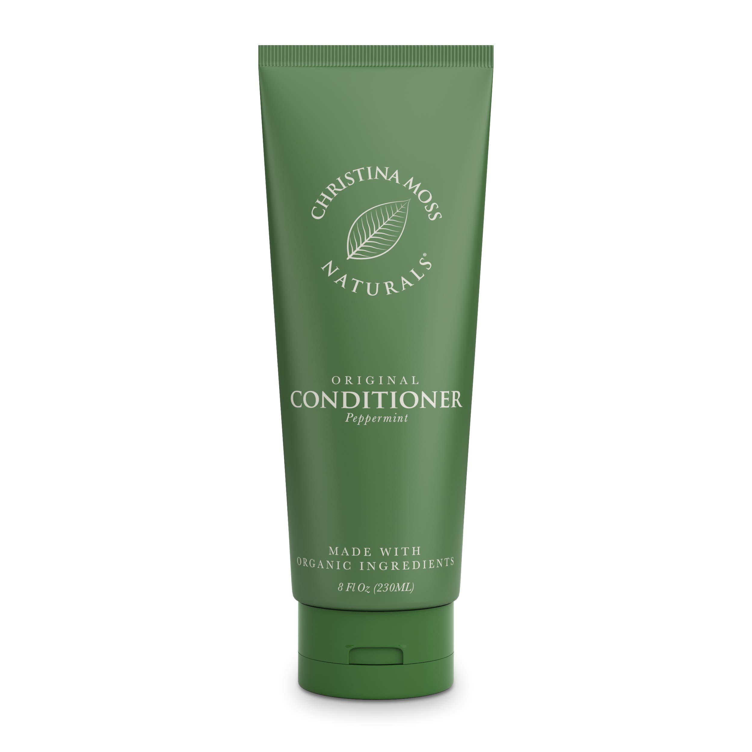 Hair Conditioner, With Organic Aloe – Nourish & Sooth All Hair Types - Dry, Oily, Curly, Fine - Daily & Leave In For Women & Men, Sulfate Free, Non Toxic, No Harmful Chemicals. Christina Moss Naturals