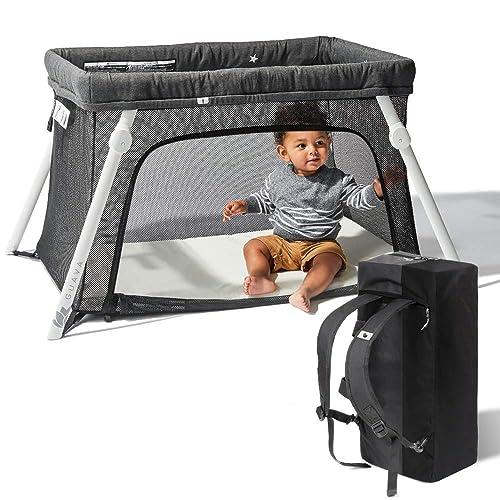 Lotus Travel Crib with mesh sides