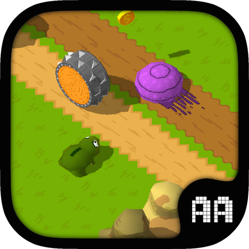 Froggy Crosses The Road (Kindle Tablet & Kindle Fire Phone Edition) by French Indie Free Game Developer
