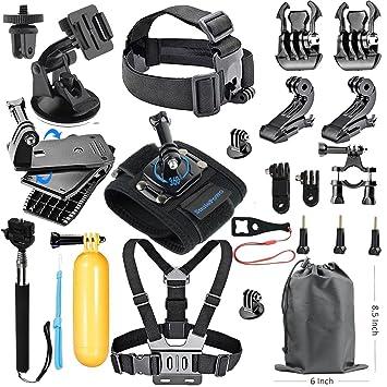 SmilePowo 18-in-1 Accessory Kit for GoPro Hero5 Black  Amazon.co.uk ... a38bb34938ca
