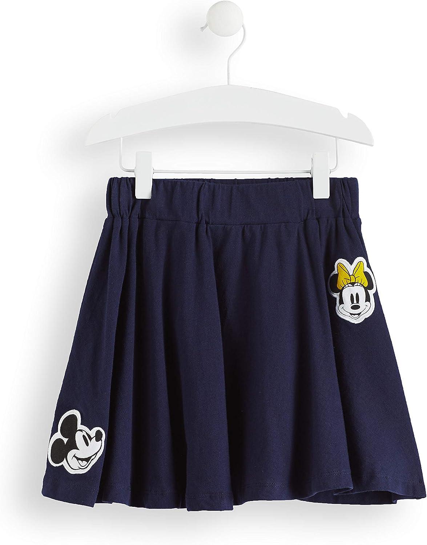 Marca Amazon - RED WAGON Falda Minnie Mouse Niñas, Azul (Navy ...