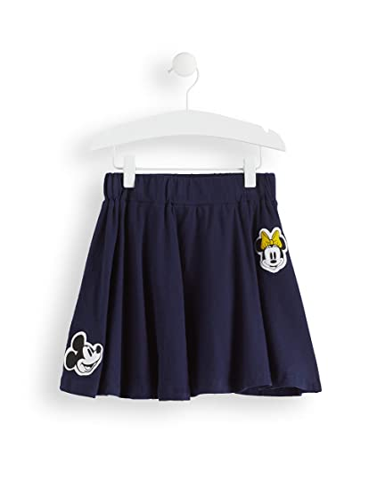 RED WAGON Girls Minnie Mouse and Mickey MouseNavy Badges Skirt ...