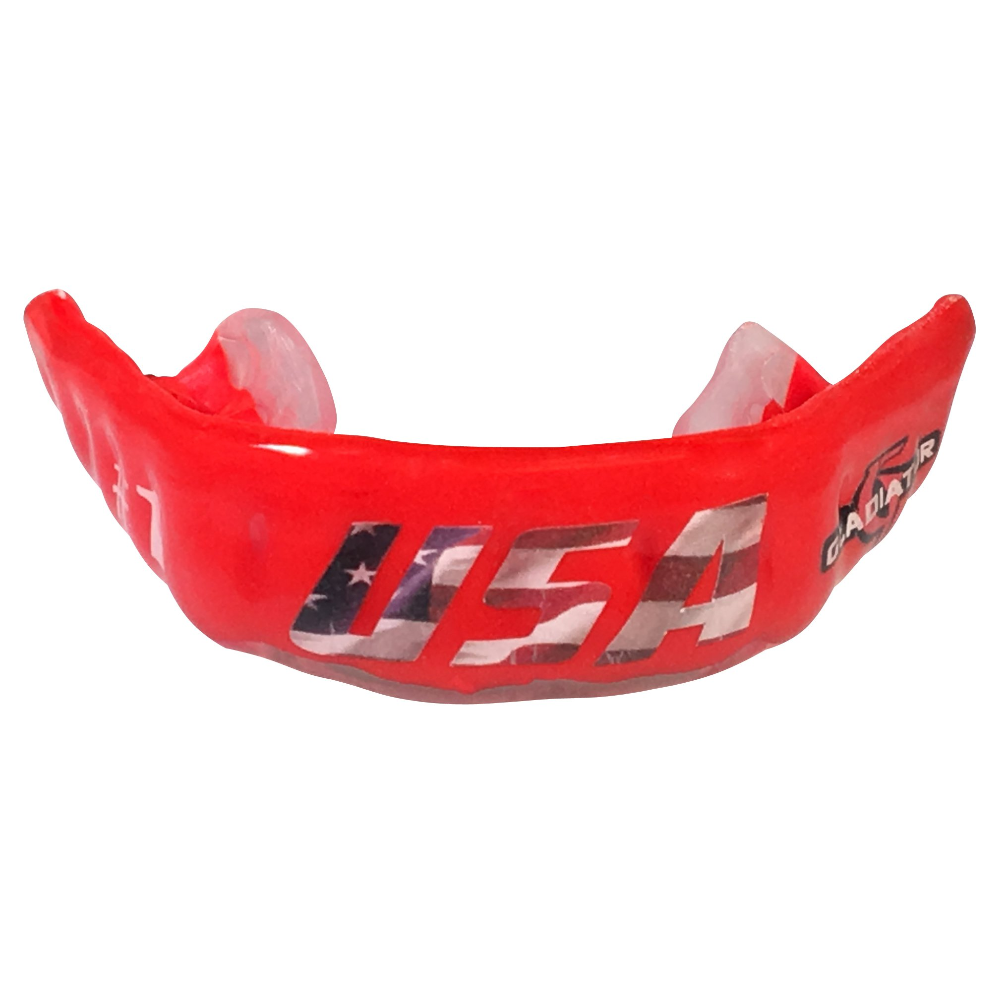 Gladiator Custom Mouthguard Pro Style All Sports Braces, Fully Personalized, Custom fit to Your Mouth