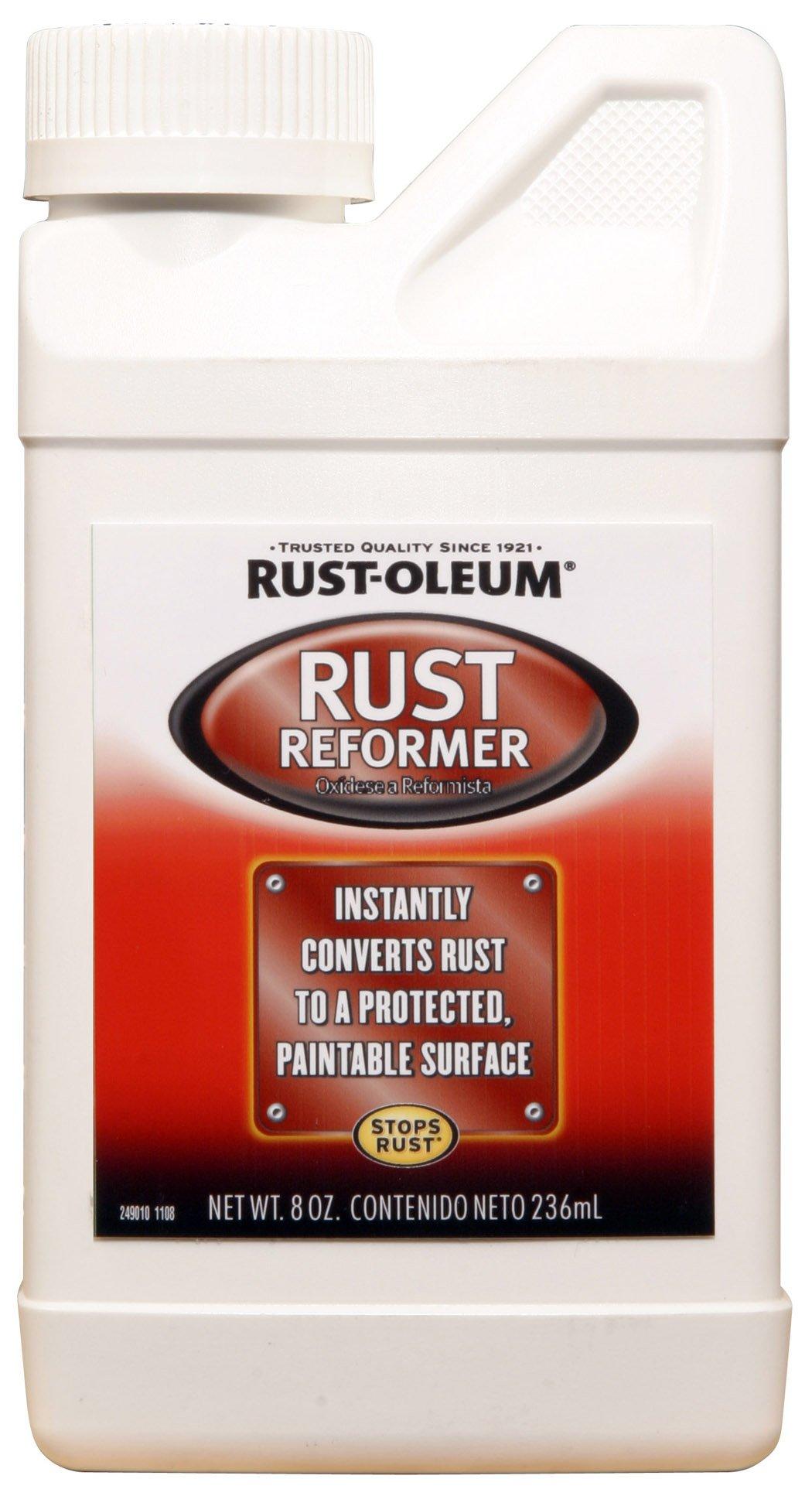 Rust-Oleum Automotive 248659 8-Ounce Rust Reformer Bottle, Black