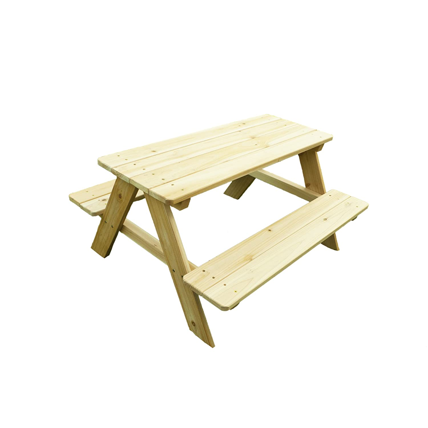 Amazon.com : Merry Garden Kids Wooden Picnic Bench : Outdoor Benches :  Garden U0026 Outdoor