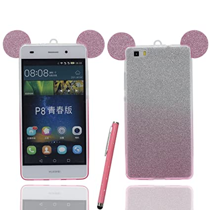 Huawei P8 Lite Carcasa Protectora Bonita Encantador Cartoon ...
